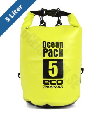 Ocean Pack Eco 5 Liter - Green