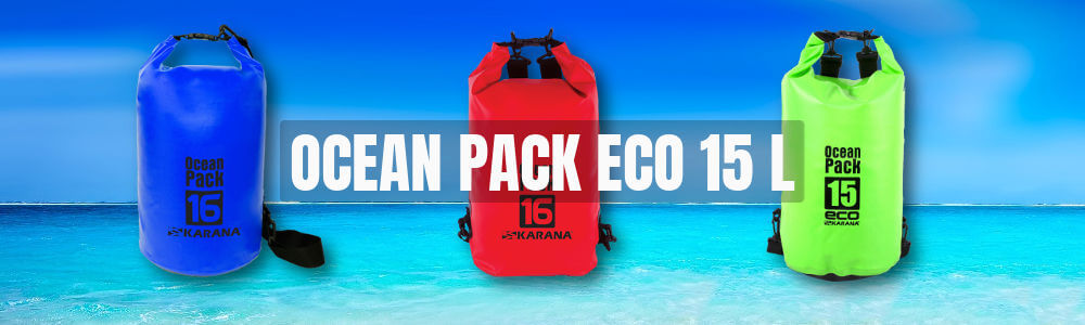 Ocean Pack Eco dry bag 15 liter