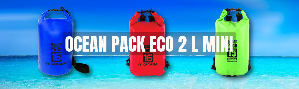Ocean Pack Eco dry bag 2 liter Mini