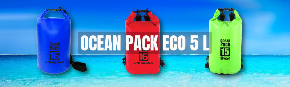 Ocean Pack Eco dry bag 5 liter